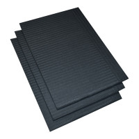 Vorschau: Patientenservietten schwarz - NITRAS Medical®   500 Stk. pro Karton